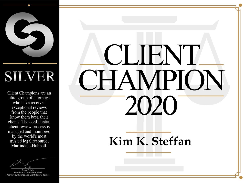 client champion banner